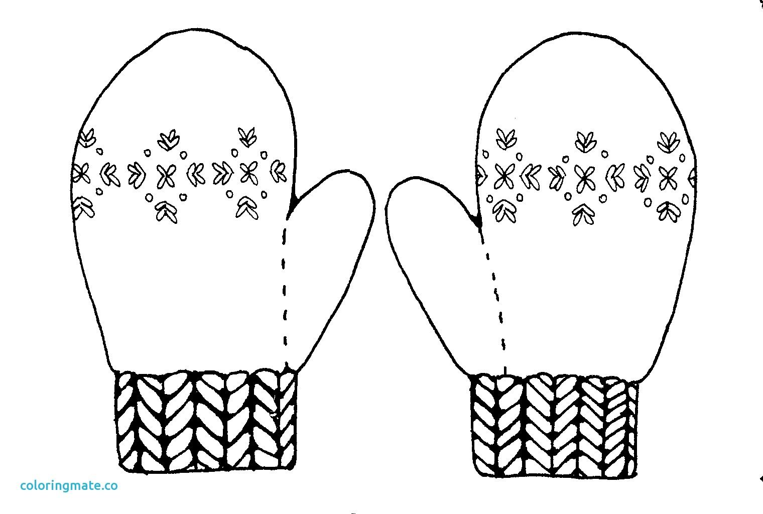 Related Image Coloring Pages Hand Warmers Black And White Mittens