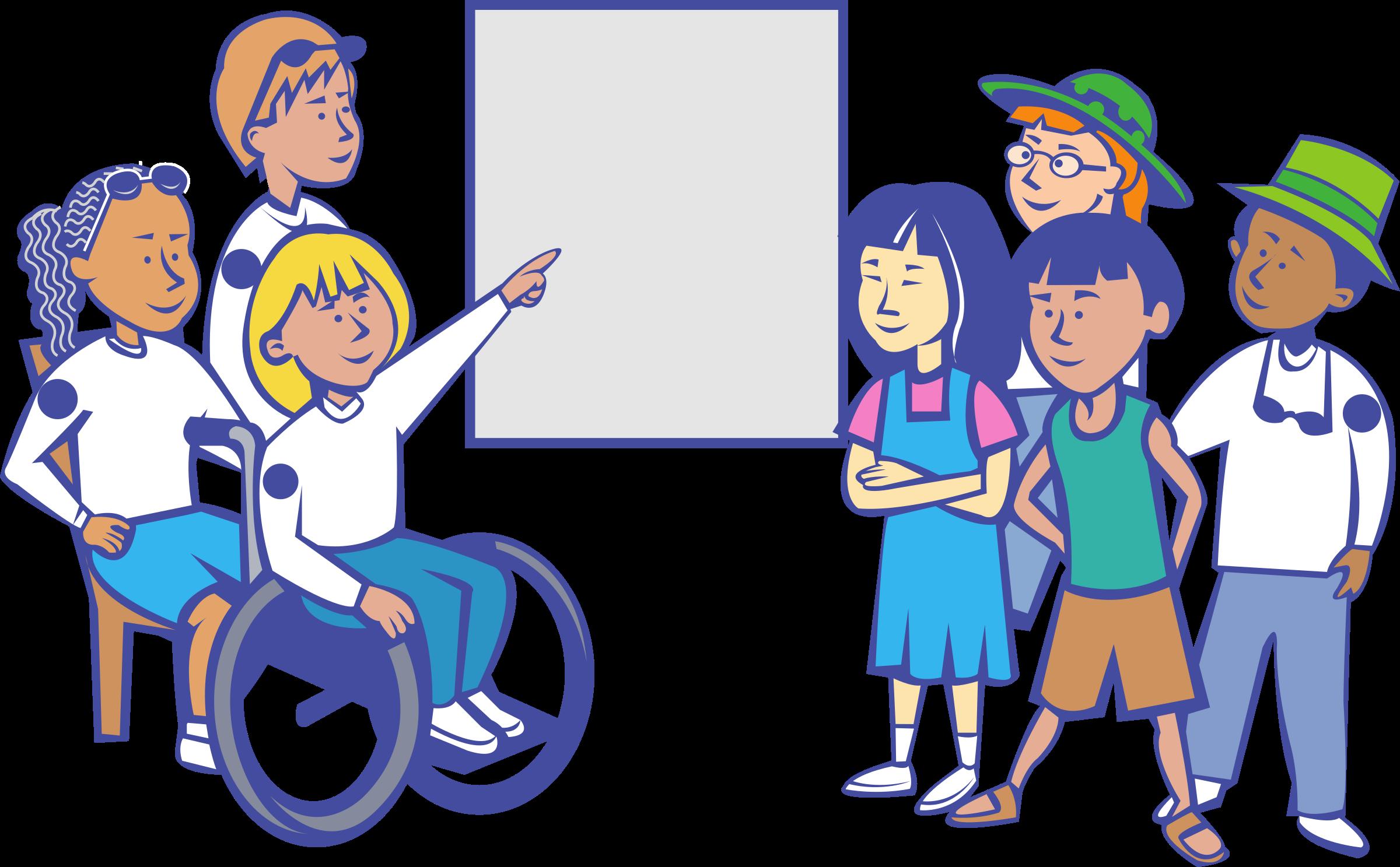Kids in a Classroom Immagini