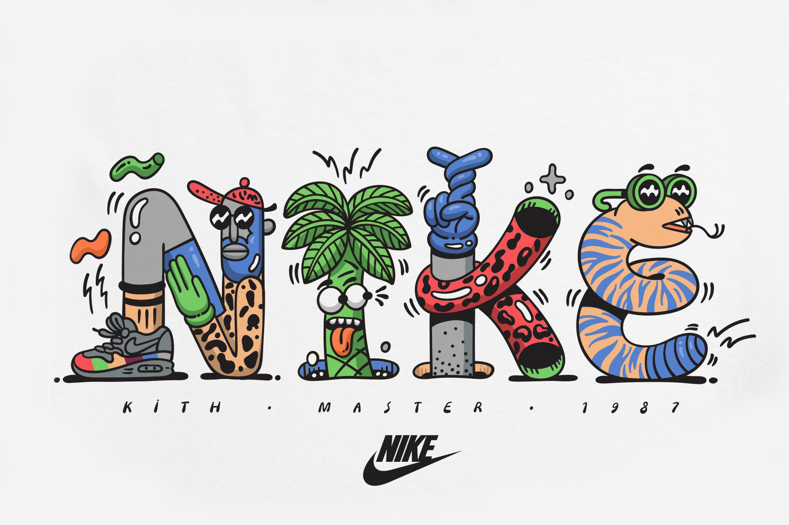 6ae1dba3b8 A Closer Look at the KITH x Steven Harrington x Nike Collaboration ...