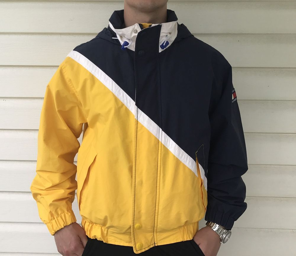 Vintage us tommy hilfiger jacket ebay fashion pinterest