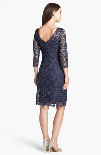 Marina Metallic Lace Sheath Dress Nordstrom Lace Sheath Dress Nordstrom Dresses Dresses