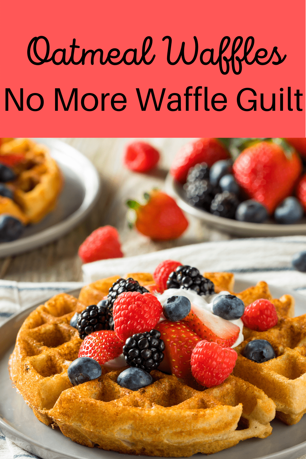 Oatmeal Waffles In 2020 Delicious Healthy Breakfast Recipes Perfect Healthy Breakfast Healthy Breakfast Recipes