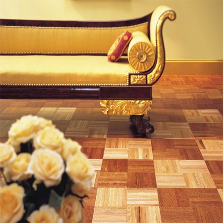 Living Room Flooring Idea Urethane Parquet Best Standard By