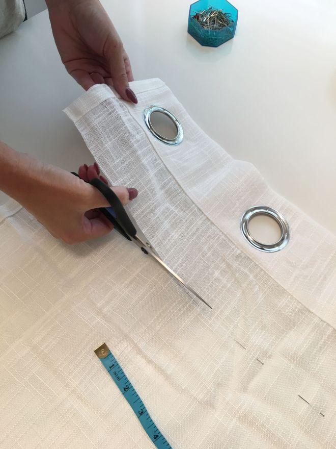 DIY: Easy Pinch Pleat Curtains