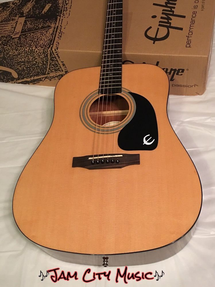Epiphone Pr 150 Na Economy Acoustic Guitar Great Campfire Or Starter Model Natur Ebay Epiphone Guitar Acoustic Guitar