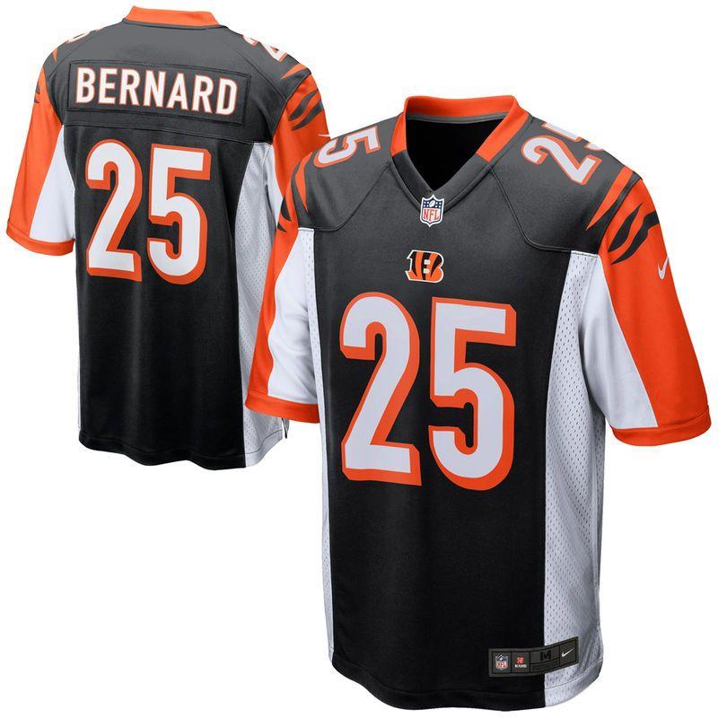huge discount ae217 10c5e Giovani Bernard Cincinnati Bengals Nike Game Jersey - Black ...