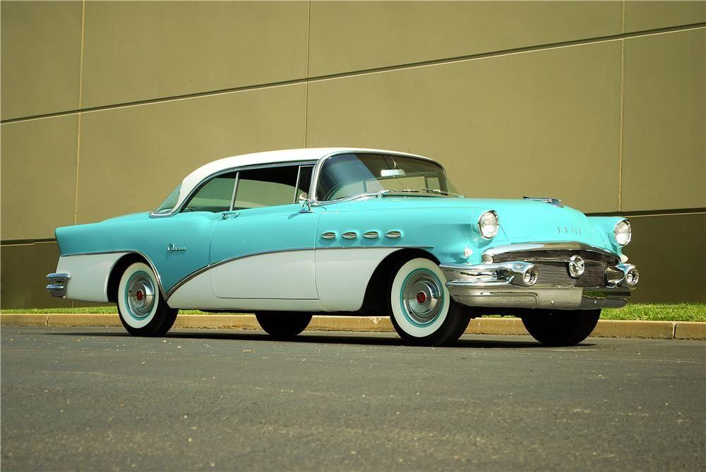 1956 Buick Super 2 Door Hardtop 137900 1956 Buick Buick