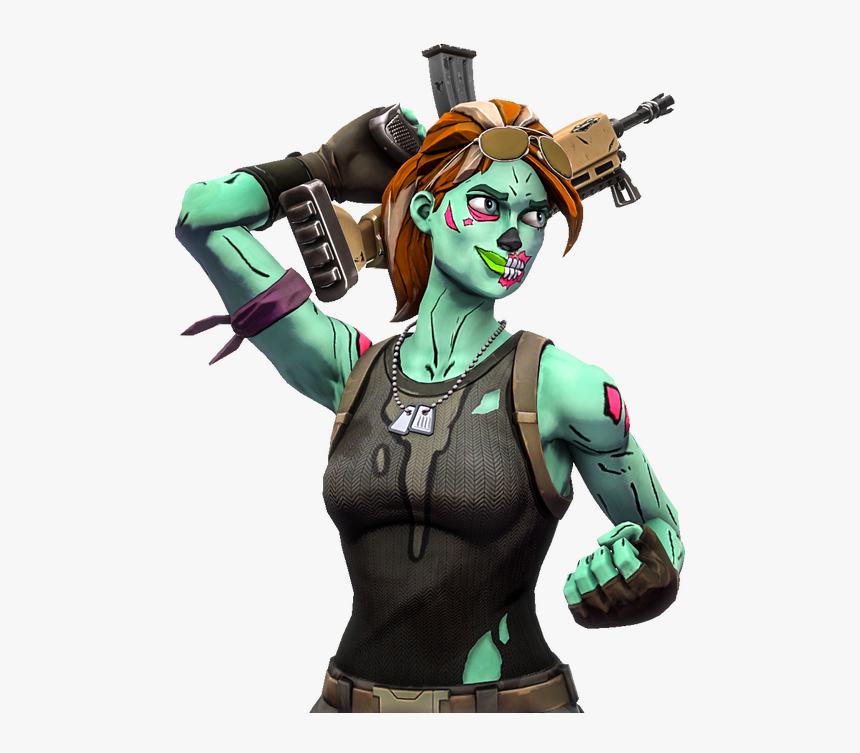 Fortnite Skin Zombie Girl Hd Png Download Is Free Transparent Png Image To Explore More Similar Hd Image On Pngitem Zombie Girl Png Fortnite