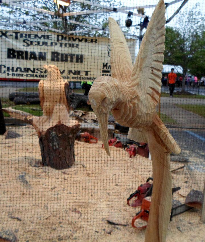 Chainsaw Sculpture...