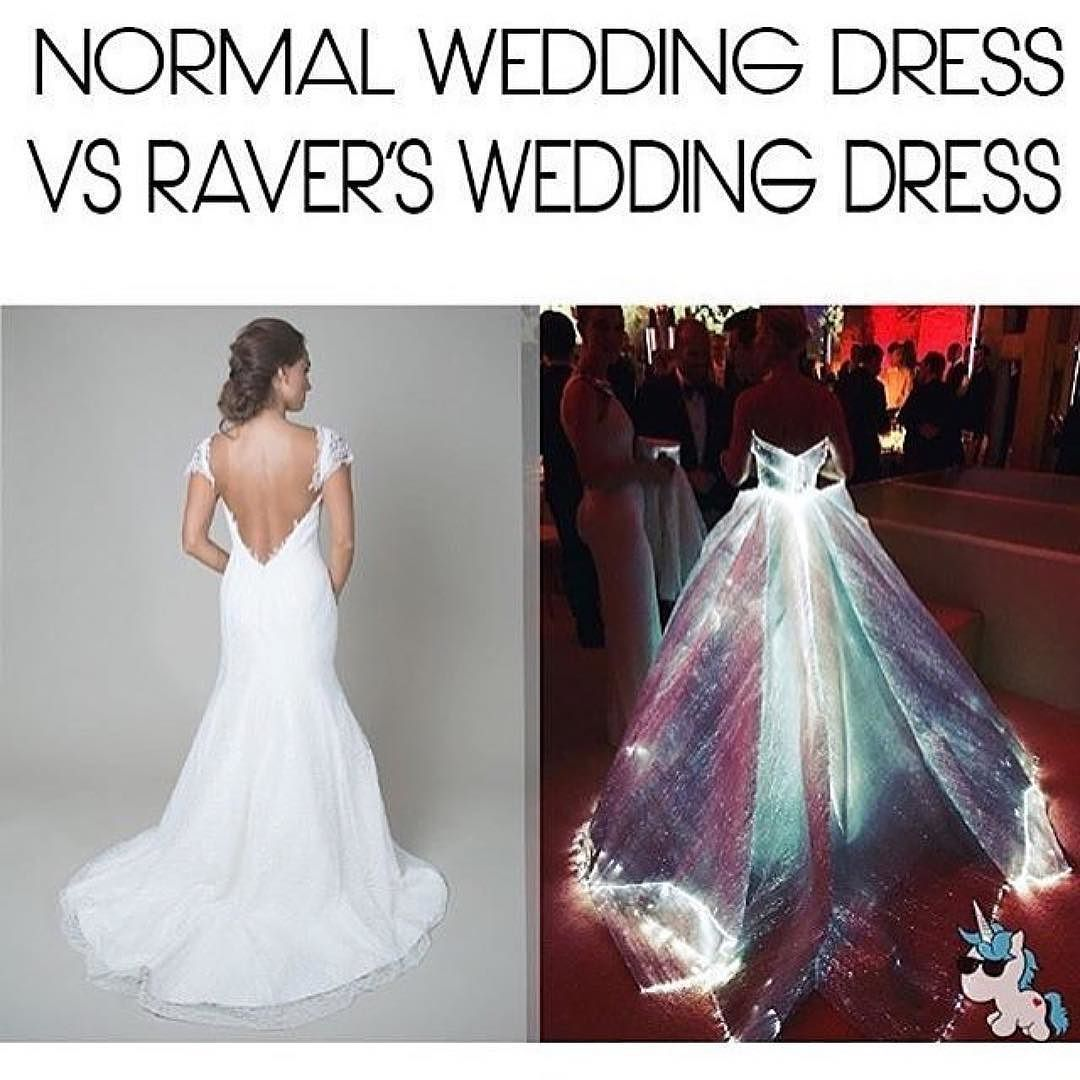 One Of My Dreams Is To Design Own Rave Wedding Dress Would You Like A Normal Or: Forest Dipped Wedding Dresses At Websimilar.org