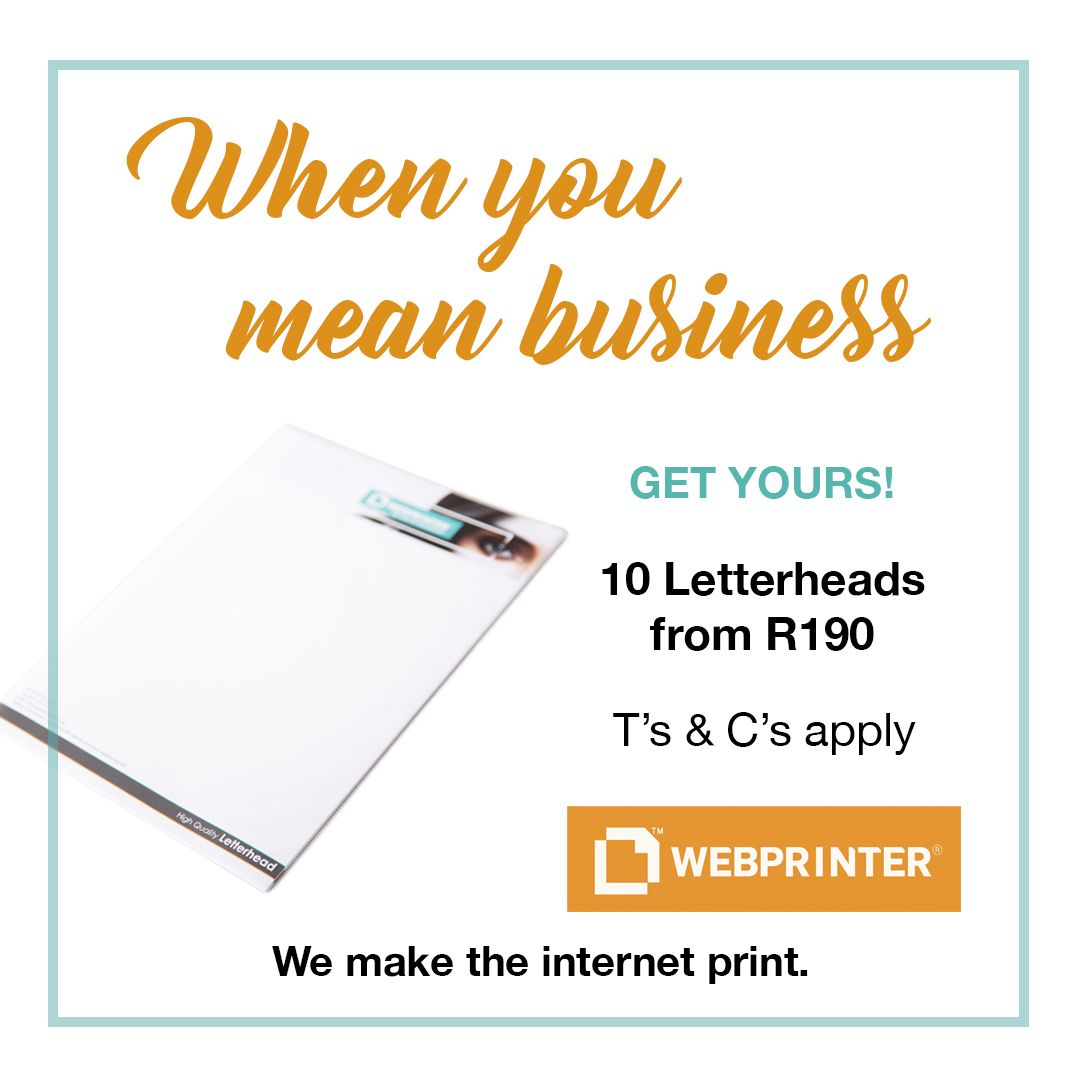 We Took The Fuss Out Of Company Letterhead Printing And Made It