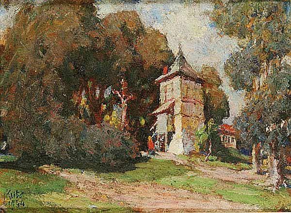 Kuba Ludvík (Podebrady 1863 - 1956 Prague) A Bell - by Dorotheum