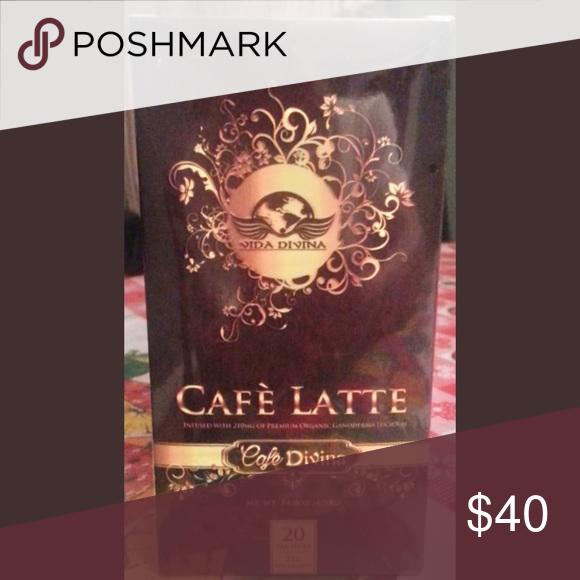 CAFE DIVINA. Café Latte.100%Organic Arabica Coffee Indulge