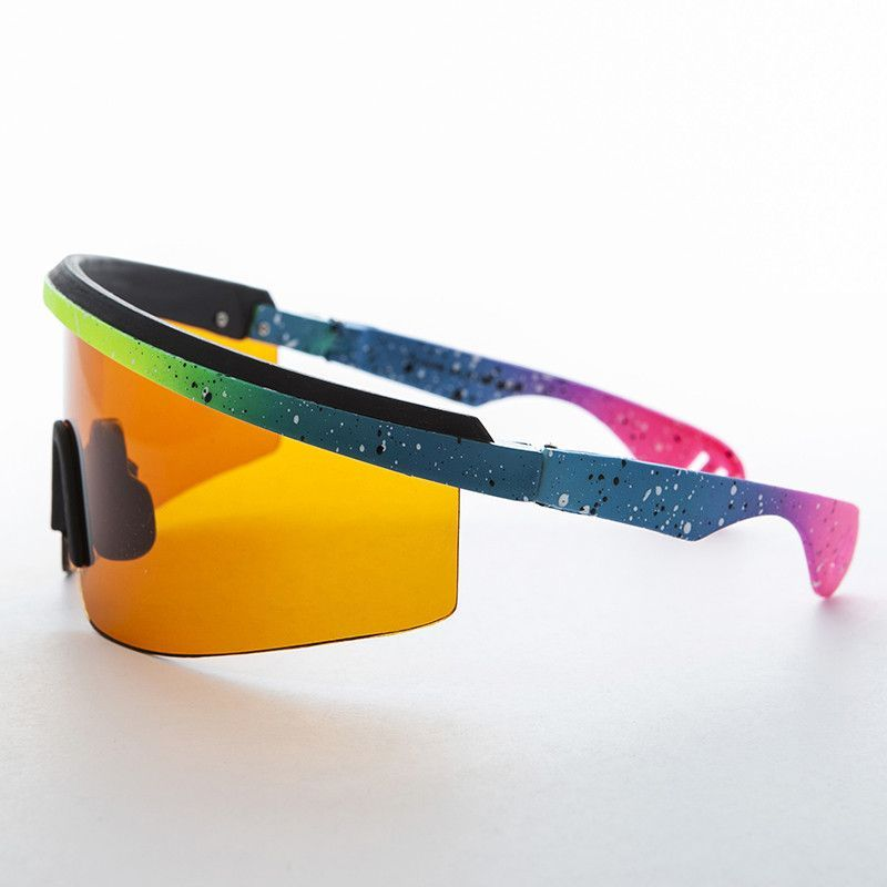 2bbd4a8413 Sports Wrap Killer Loop Vintage Sunglass with Amber Blue Blocker Lens  -POLLOCK