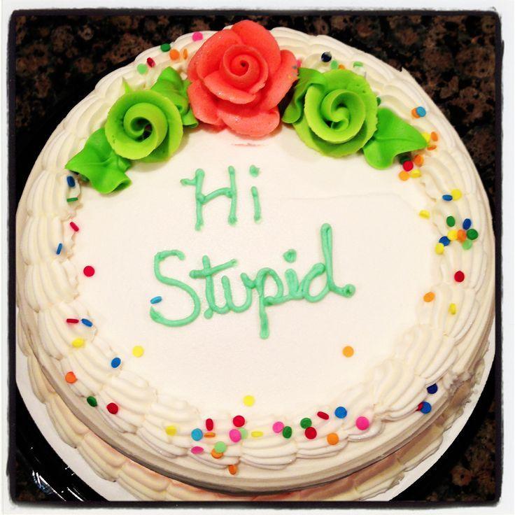 Hi Stupid cake Not as it seems Pinterest Cake Eat