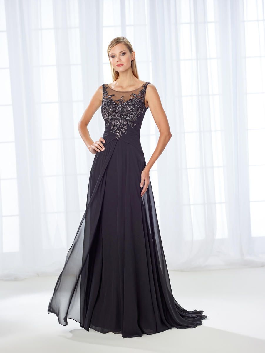 b6573233edfc Check out the deal on Cameron Blake 118680 Feminine Mother of the Bride  Dress at French Novelty