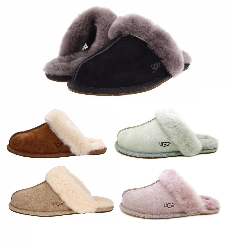 STYLE: Scuffette II Slippers. COLOR: Black, Chestnut,Dusk