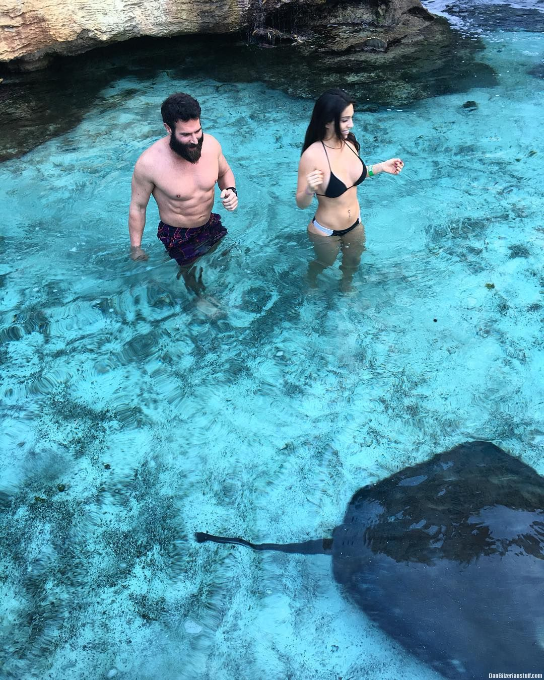 e5c0d8a1c4 Try not to step on the stingrays @laurenblakeee | Dan Bilzerian: Girls,  Guns and Supercars!