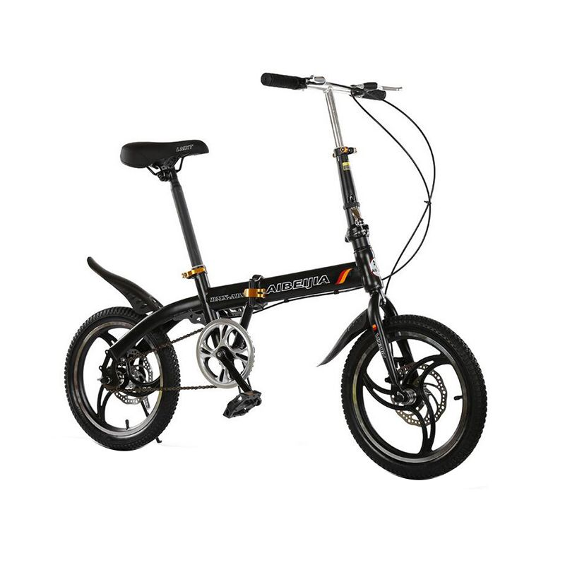 Hot Sale 16 Inches Folding Bike V Brakes Children Bicycle 7 Speed