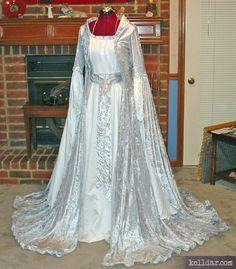Arwen style wedding dress