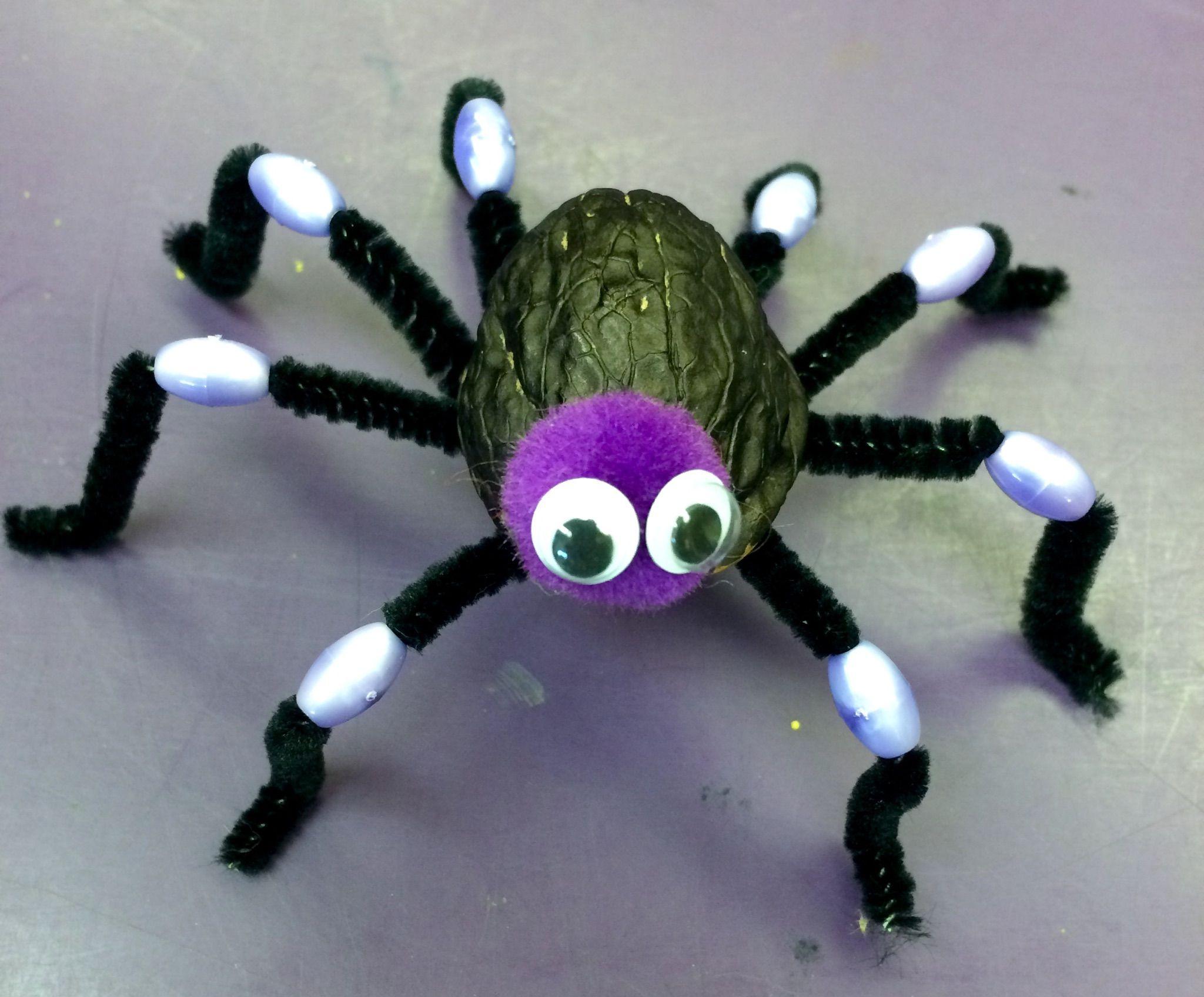 Walnut Spider Halloweencraft