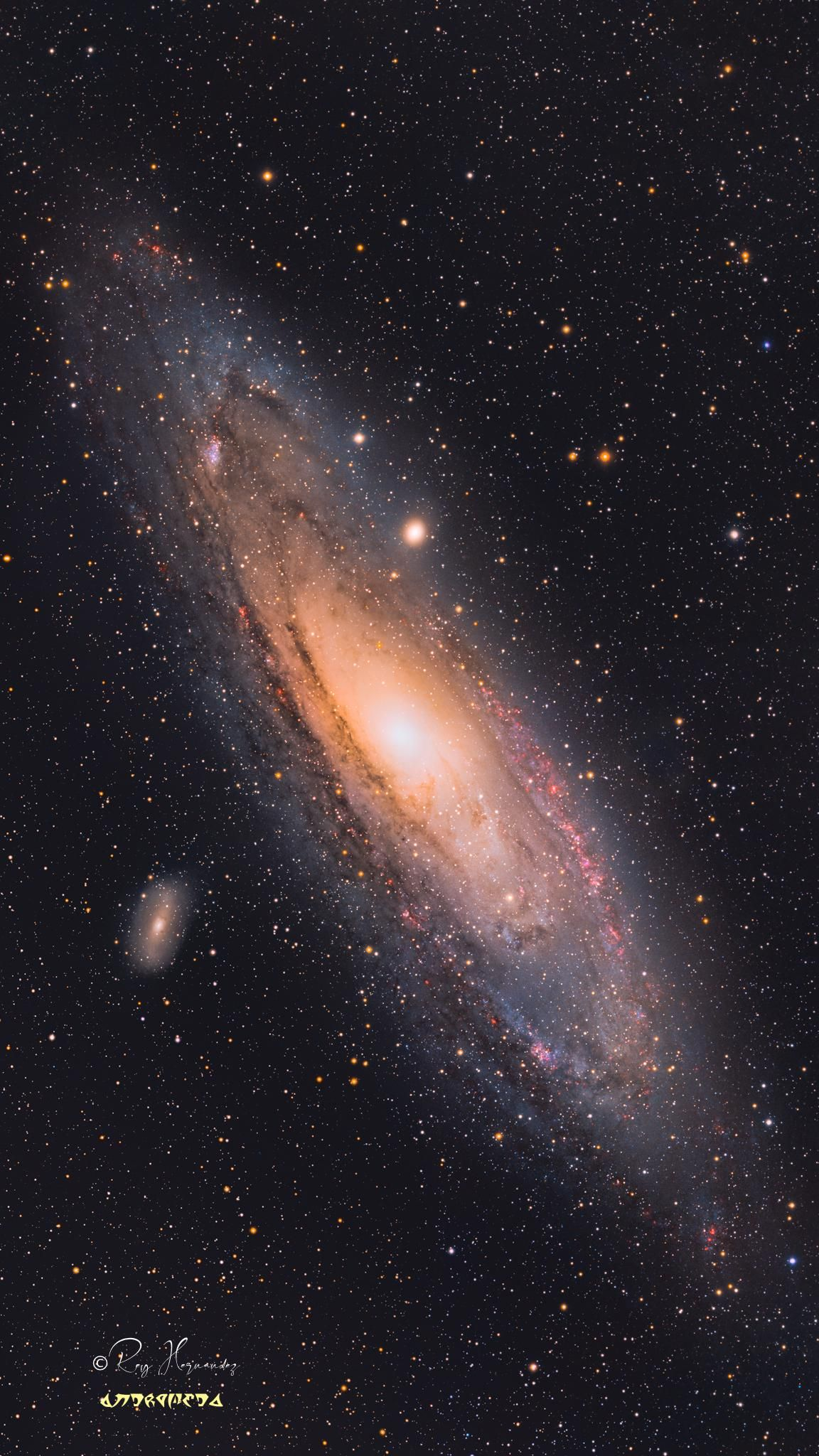 M31 - 97 Hrs of total exposure time over 8 nights..
