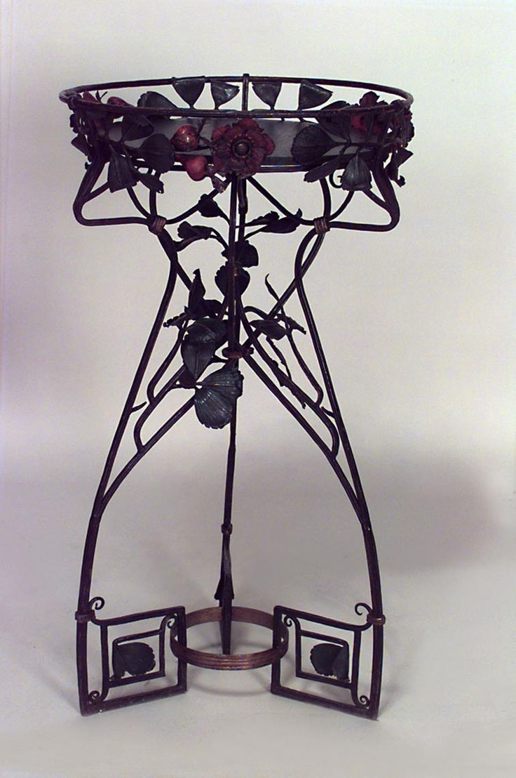 Art Nouveau Art Nouveau Misc Furniture Fernery Wrought Iron Art  # Mekano Muebles Resistencia