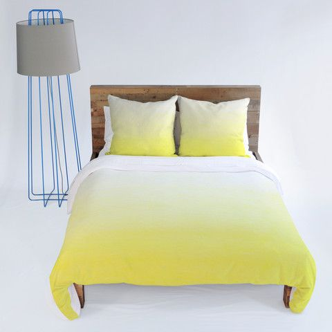 Social Proper Lemon Ombre Duvet Cover Ombre Yellow Bedding Bedroom Ombre Duvet Duvet Cover Master Bedroom Yellow Bedding