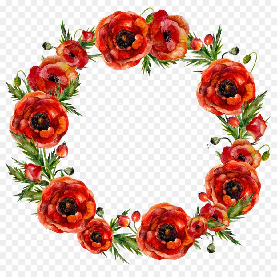 Girlanda Kwiat Czerwony Wianek Girlandy Kwiatowe Flower Drawing Flower Bouquet Drawing Flower Pattern Drawing