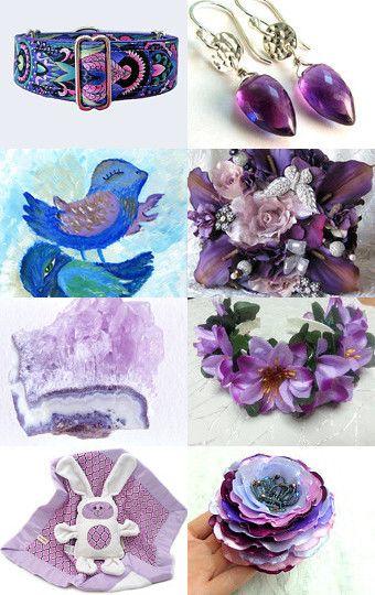 Purple by Iryna Knyazeva on Etsy--Pinned with TreasuryPin.com