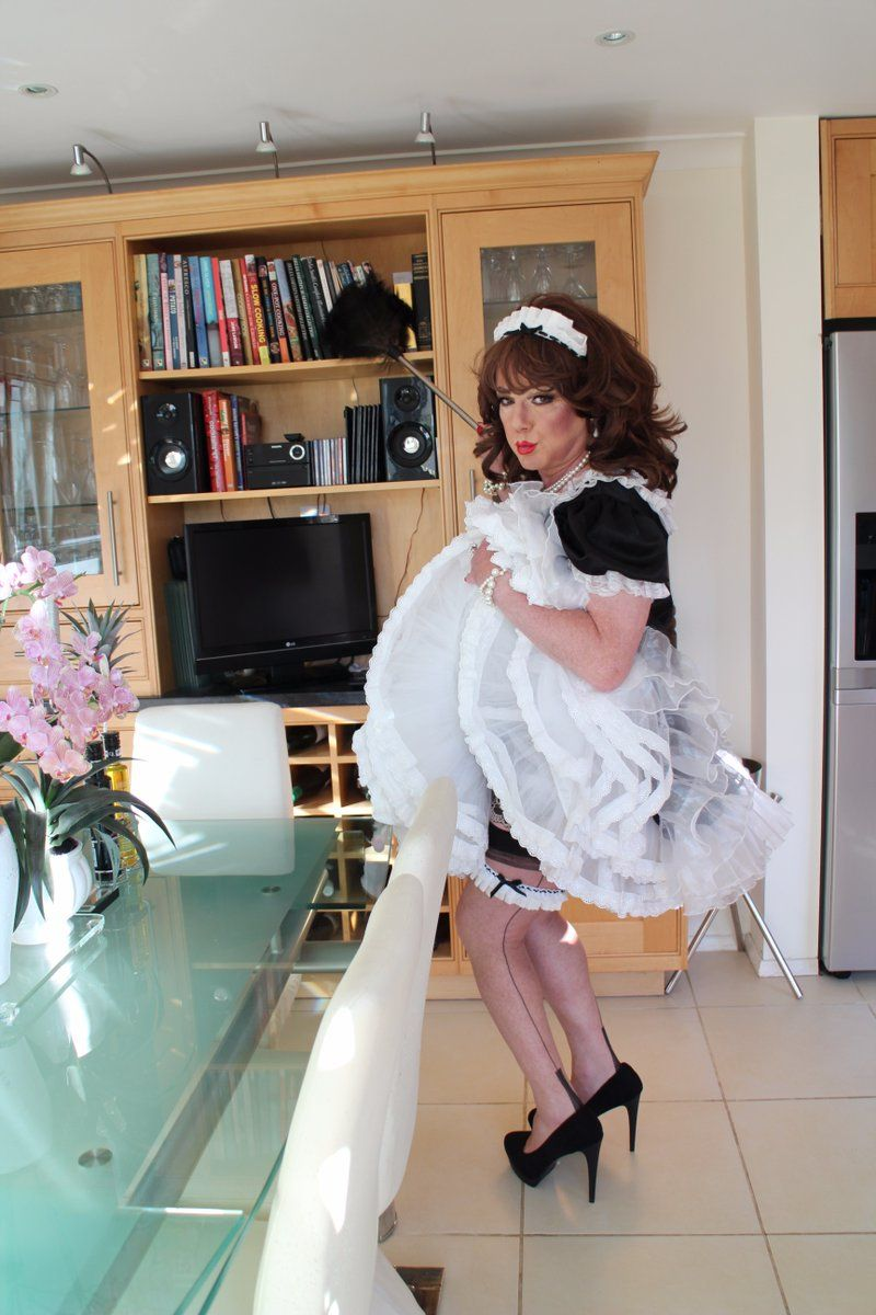 Living as her transvestite maid
