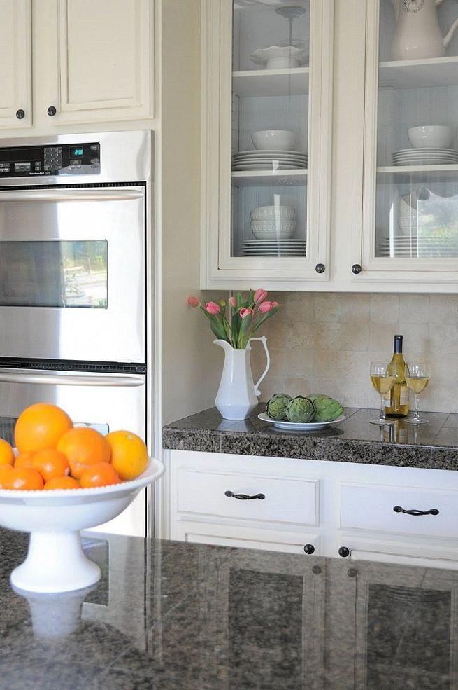 Kitchen Cabinet Tips & Tricks Idea Box by Genevre   Glass ...