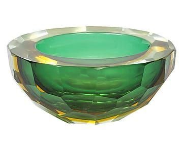 Posacenere in vetro Murano anni '50 p.unico - 15x7x13 cm