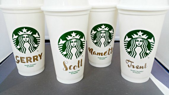 Starbucks Cups Starbucks Custom Personalized Cup Starbucks Mug