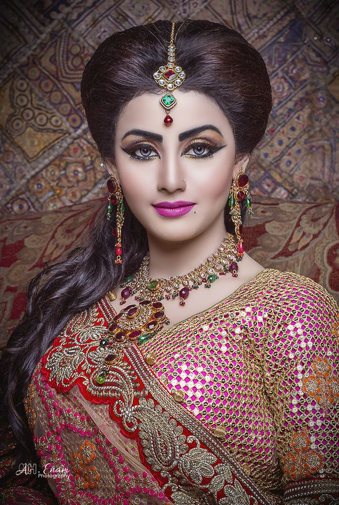 Bristy by Anwar Hussain / 500px Bengali bridal makeup