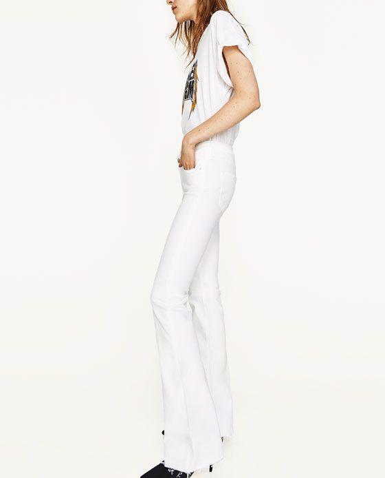 df39d4b5 Bild 4 av SKINNY FLARE-JEANS PREMIUM COLLECTION från Zara | Mmmm ...
