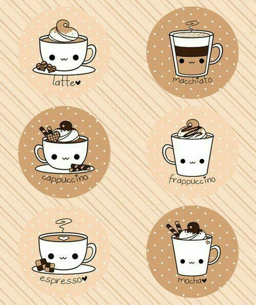 Cute Coffees  E2 9d A4 Ef B8 8f
