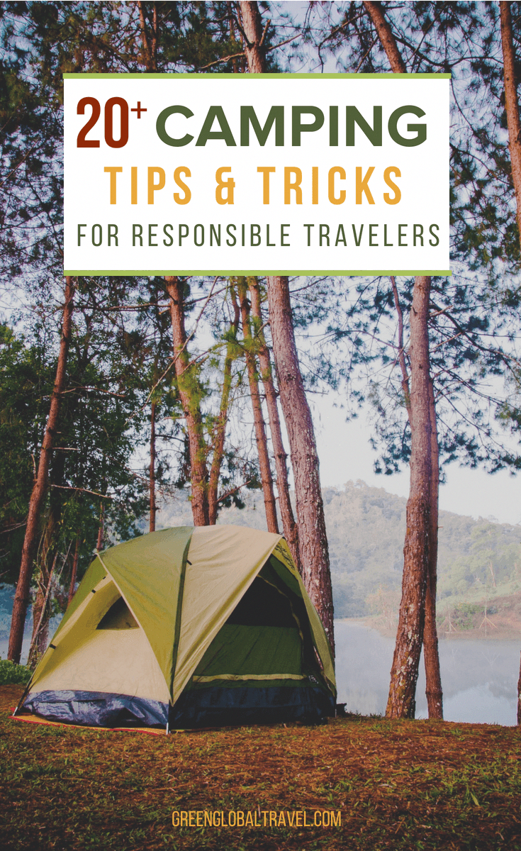 check out our great camping tips & tricks for ideas on how to be
