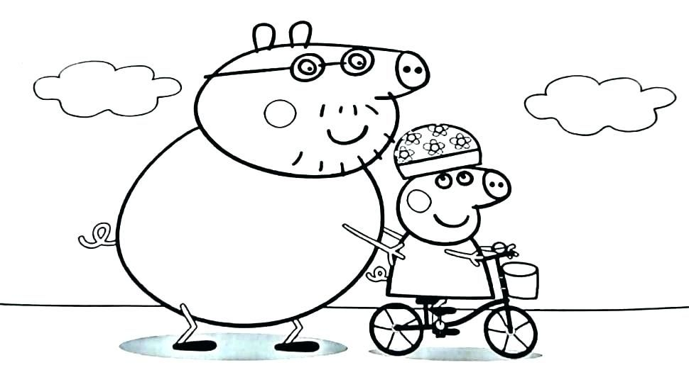 Printable Peppa Pig Coloring Pages Free Coloring Sheets Peppa Pig Colouring Peppa Pig Coloring Pages Coloring Pages For Kids