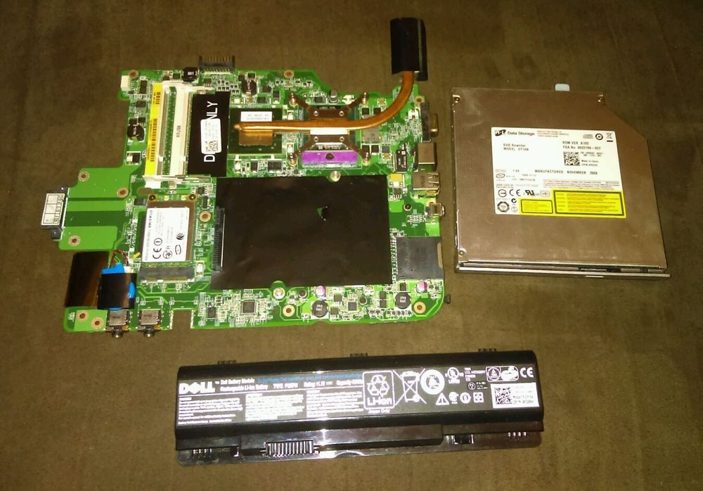 Dell vostro A860 motherboard battery & dvd Re. #Dell