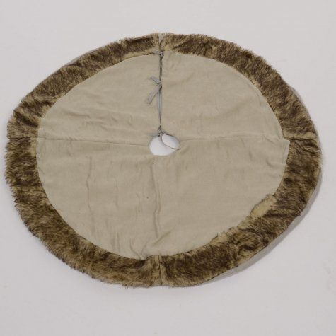 tapis de sapin fausse fourrure et tissu beige tapis de. Black Bedroom Furniture Sets. Home Design Ideas