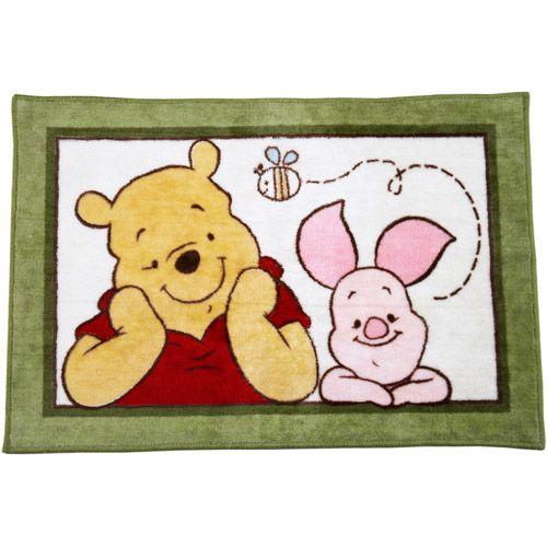 Disney Baby   Winnie The Pooh Rug. Disney Baby   Winnie The Pooh Rug: