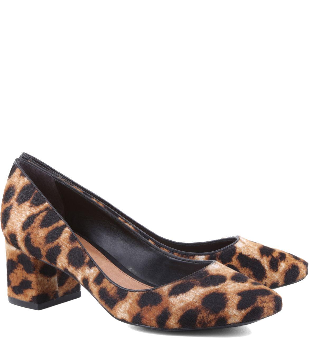 1adb25e15 Scarpin Bloco Baixo Oncinha | Arezzo | Sapatos | Shoes, Flats e Fashion