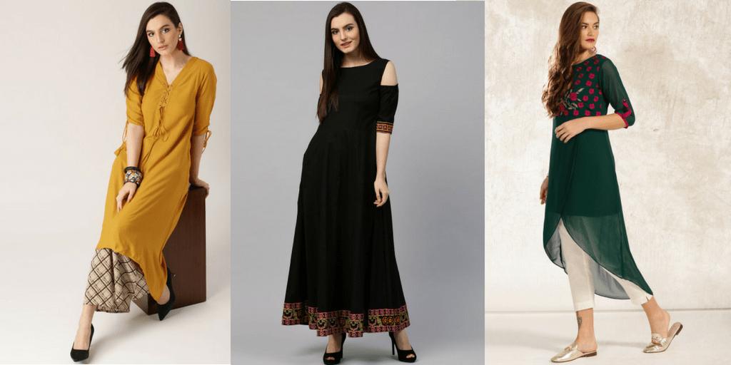 2019 Trends In New Designer Kurtis Online