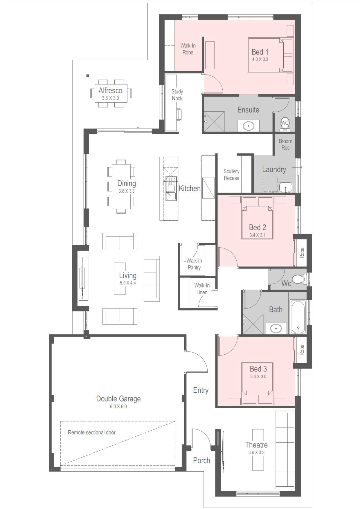 House Designs New Home Designs Perth Homebuyers Centre Architectural Floor Plans House Design House Plans