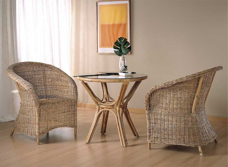 Sillon rattan pulut doble tejido http www for Muebles terrazas ratan