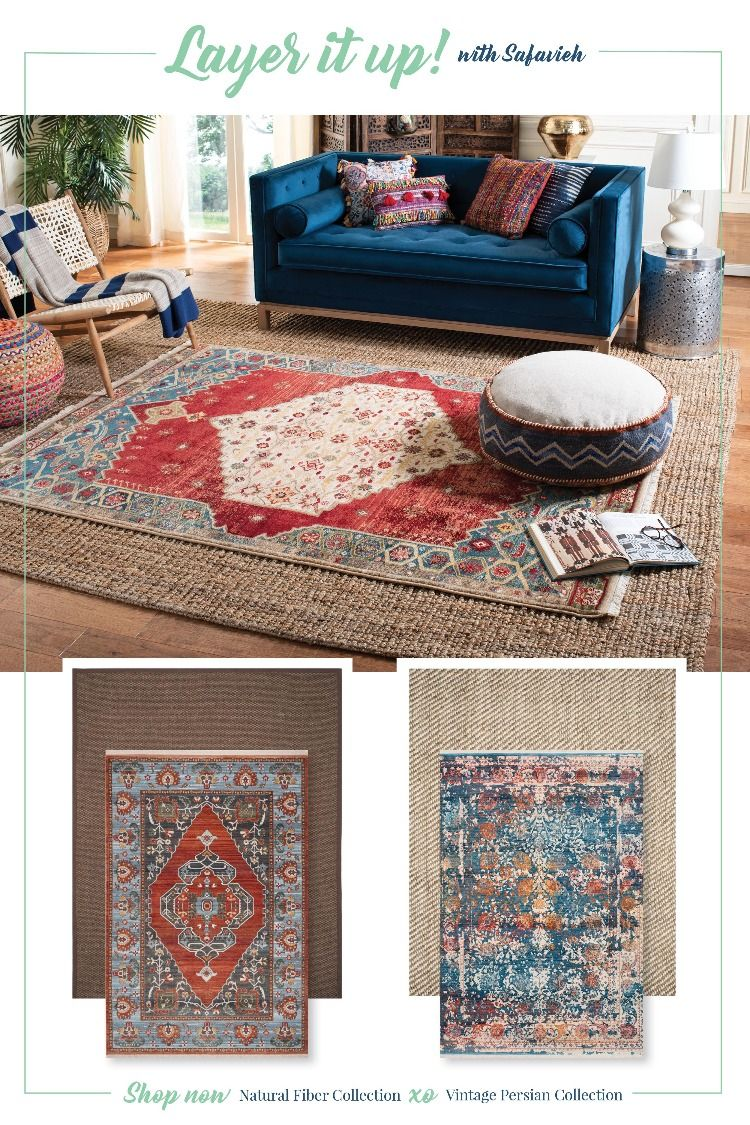 The Layered Look Layered Rugs Living Room Layered Rugs Rugs In Living Room
