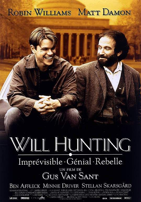 Pin By Veronique Beucher On My Movie Posters Art Works Good Will Hunting Cinema Movies Good Will Hunting Movie