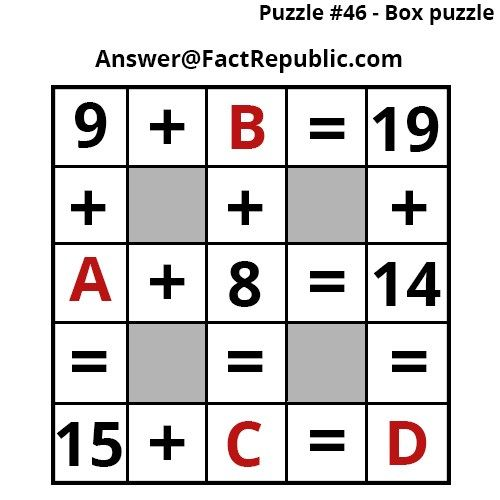Interesting Puzzles