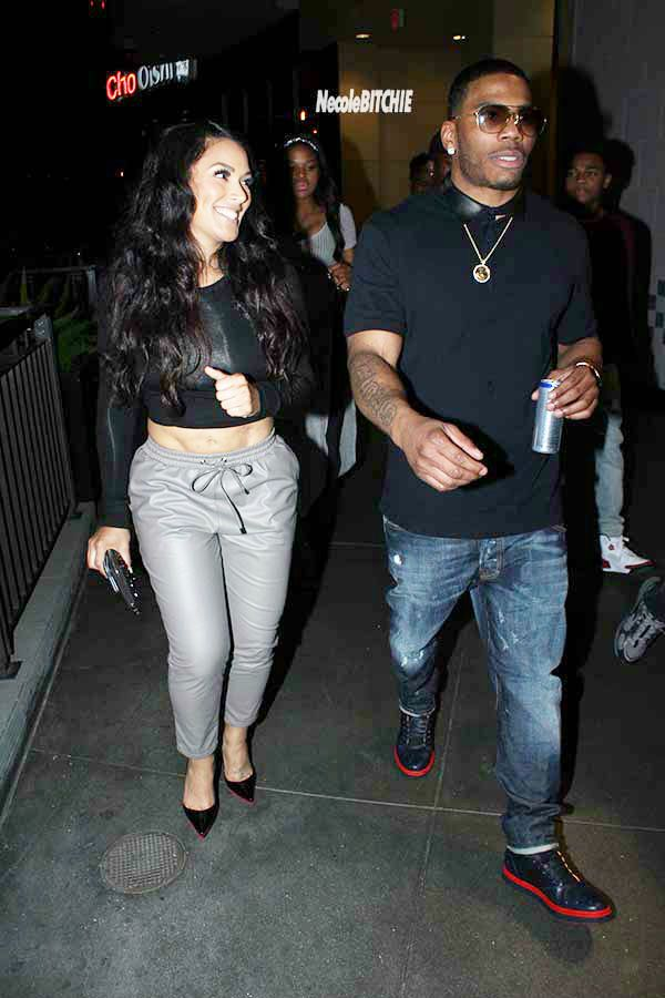 Who is nelly dating in Australia